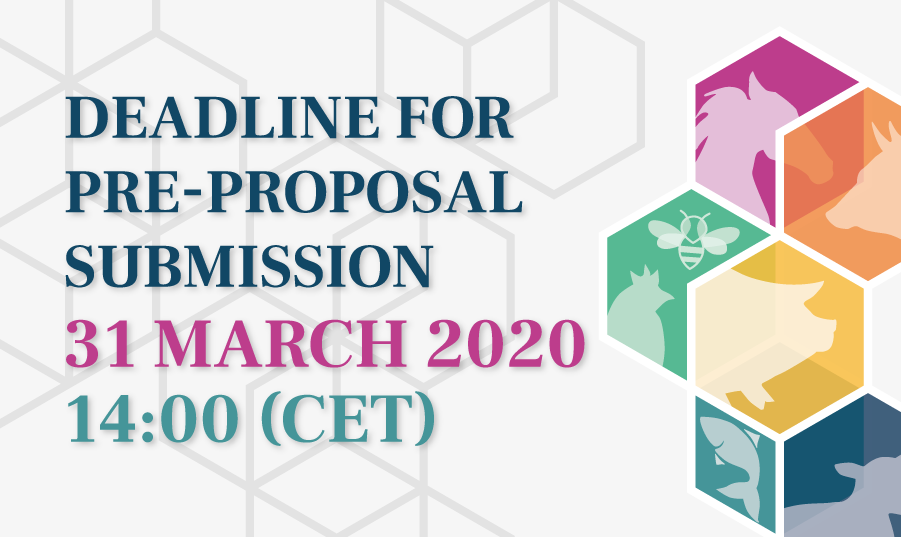 Deadline for pre-proposal submission